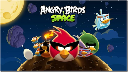 Angry Birds Space Android Game
