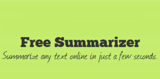 Free Summarizer to Shorten Any Text