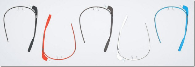 Google Glasses Color Range