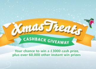 Topcashback Xmas Treats Cashback Giveaway 2017